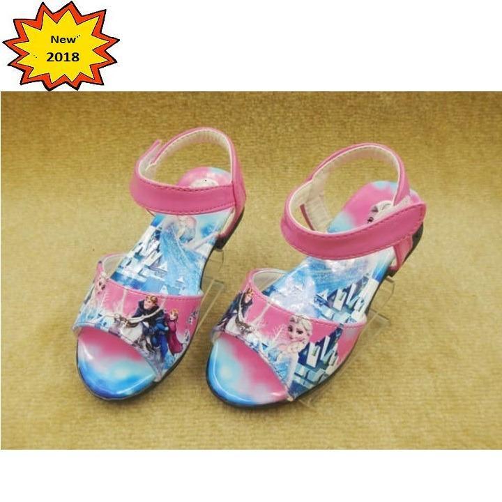 Giày elsa cho bé gái