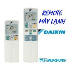 Điều khiển điều hòa Daikin Inverter 2 nút viền xanh cho máy 1 và 2 chiều