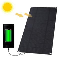 Tấm pin năng lượng mặt trời cổng ra USB 5V 6W