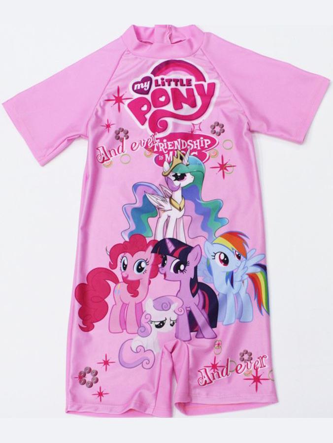 Đồ bơi liền thân bé gái Pony bé nhỏ tình bạn diệu kỳ