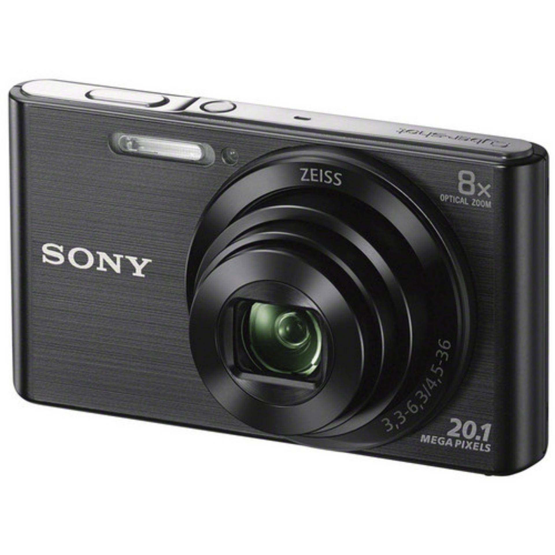 Máy ảnh KTS Sony Cyber-Shot DSC-W830 20.1MP và Zoom quang 8x (Đen) Đang Bán Tại Digiworld HN