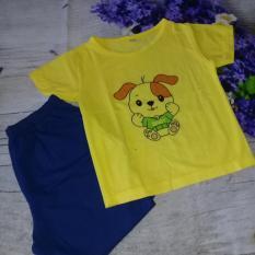 áo thun gấu con màu vàng (baby)
