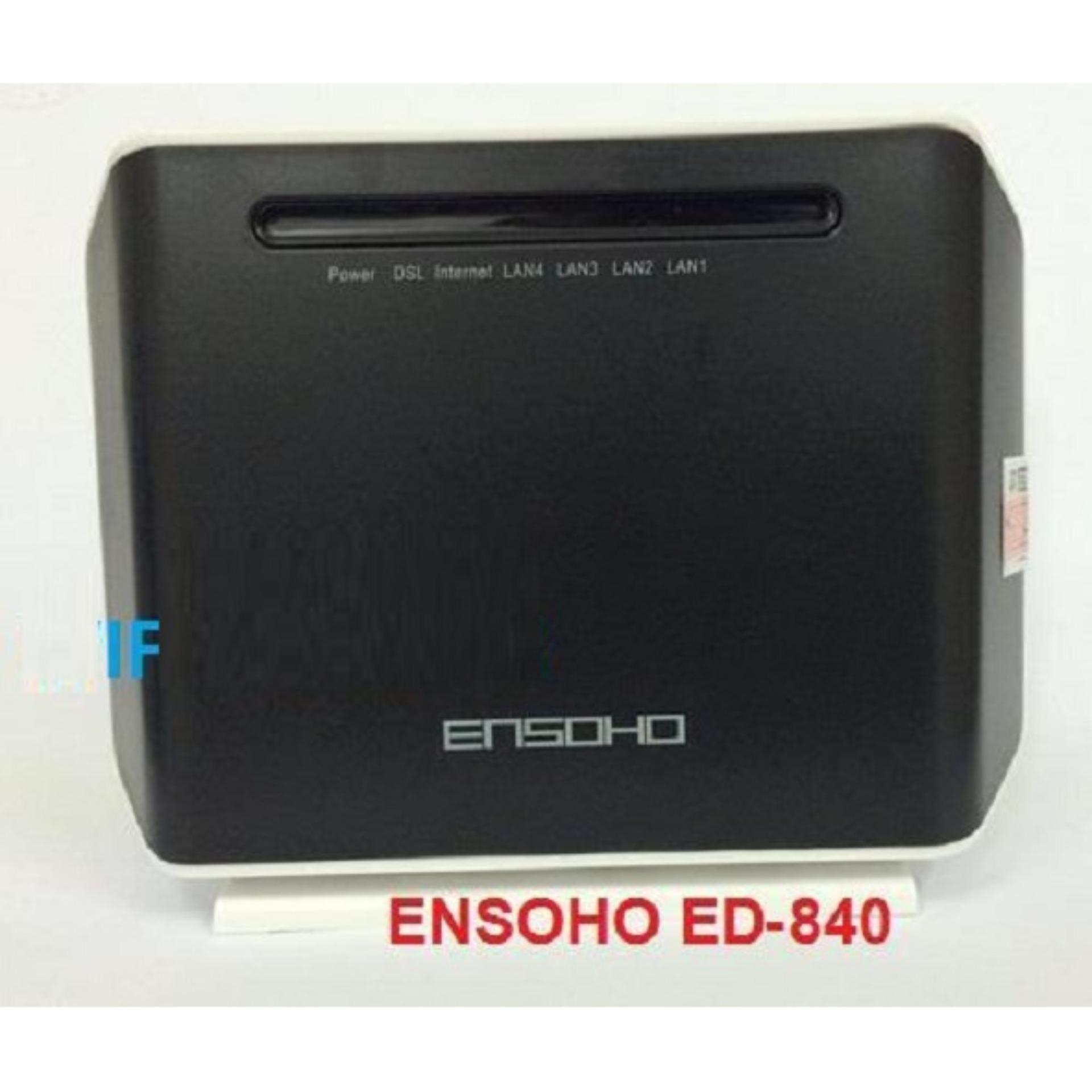 So sánh giá Modem Ensoho không dây ED-W840N 150MB (Đen) Tại May Tinh Minh Chau