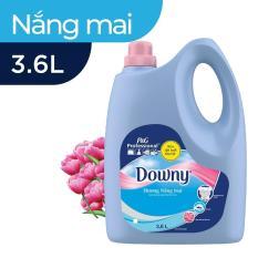 Nước xả vải Downy nắng mai 3.6L (Dạng chai)