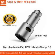 Sạc nhanh ô tô ZMI AP821 Quick Chagre 3.0
