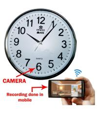 Camera IP Wifi đồng hồ treo tường Full HD DW003