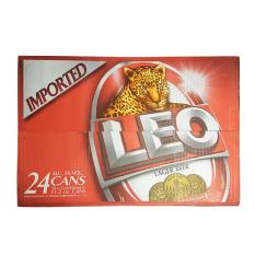 Thùng bia Leo nhập khẩu Thái Lan lon 330ml (24 lon)