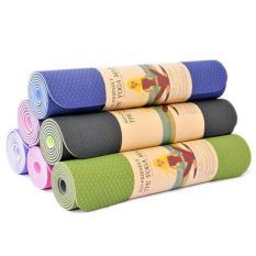 Thảm tập yoga TPE 2 lớp 6mm cao cấp