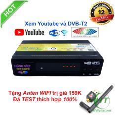 Đầu thu kỹ thuật số DVB-T2 Hùng Việt TS123 Xem YOUTUBE