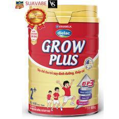 Sữa bột Dielac Grow plus 2+ 900g phát triển chiều cao cho bé