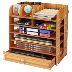 Kệ sách gỗ mini để bàn B05