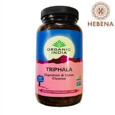 Viên uống thanh lọc ruột Organic India Triphala 250 viên – hebenastore