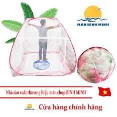 Màn Chụp chống muỗi Tự Bung Gấp Gọn Thông Minh loại 2 cửa 2m x 2m2 siêu bền – Hàng Việt Nam