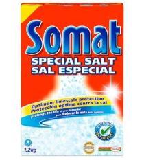Muối rửa chén cho máy SOMAT DISHWASHING SALT 1.2kg
