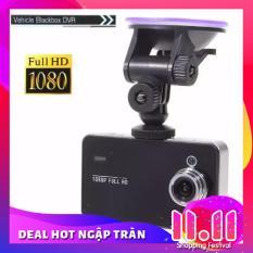 Bộ Camera Hành Trình Siêu Rẻ Cho Xe Ô Tô + Thẻ nhớ 8GB (Đen)