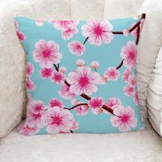Gối Tựa Sofa LOVIN Hoa Sakura Nở Gv1055 Vải Canvas