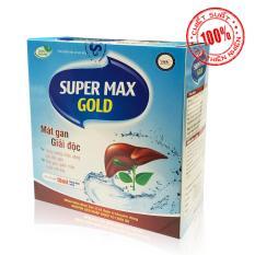 Thực phẩm chức năng Mát gan – giải độc Super Max Gold