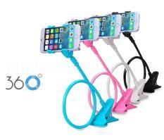 Giá đỡ kẹp điện thoại đa năng đuôi khỉ xoay 360 độ ( màu ngẫu nhiên)