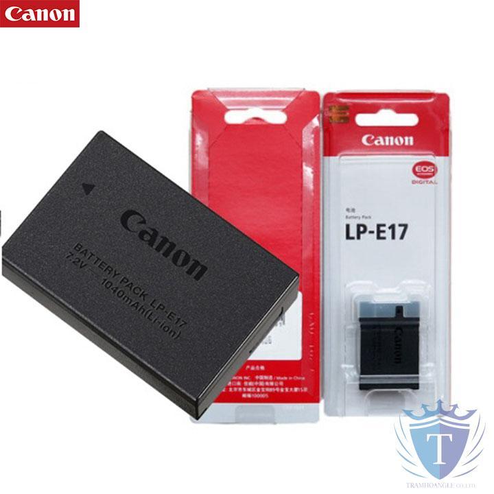 PIN CANON LP-E17 CHO CANON 750D 760D, 77D, M3, M5, 800D, M6 (HÀNG CHÍNH HÃNG)