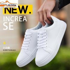 Giày sneaker nam màu trắng thời trang
