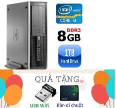 Máy tính đồng bộ HP Elite 8200 SFF ( CPU i3 2100 / 8G / 1000G ) Tặng USB Wifi ,Bàn di chuột – Hàng Nhập Khẩu