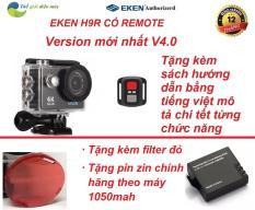 Camera thể thao Eken H9R version 5.0 tặng kèm filter đỏ, tặng pin 1050mah