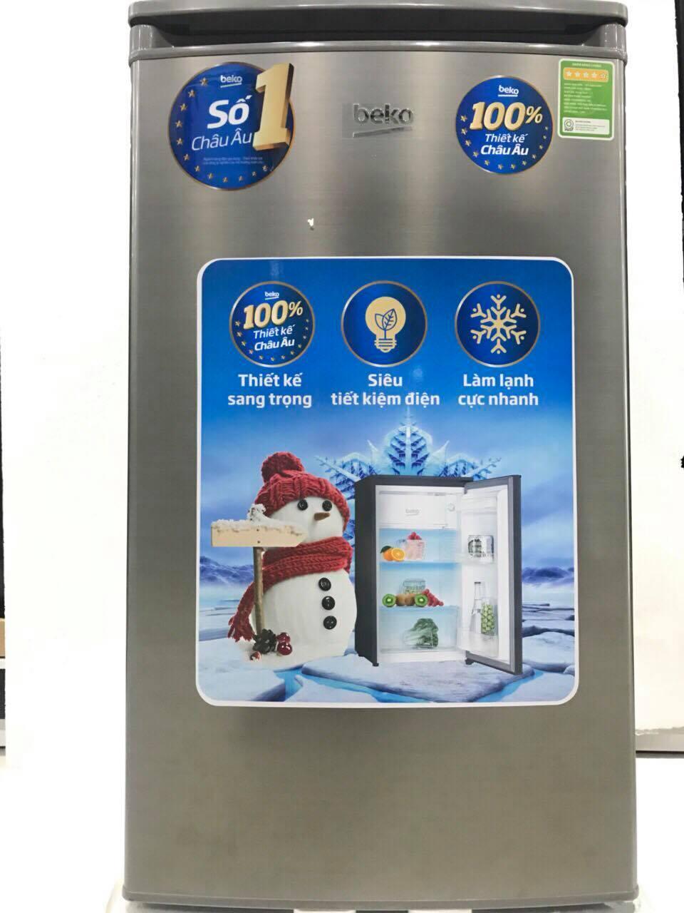 Tủ lạnh Beko RS9050P 90 Lít (Xám)
