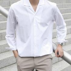Áo sơ mi cổ Vest basic form unisex