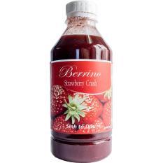 Sinh tố Berrino Dâu tây (Strawberry Crush) 1L
