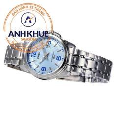 Đồng hồ nữ dây thép không gỉ Casio Anh Khuê Đại Lý Casio Phước Lộc LTP-1314D-2AVDF