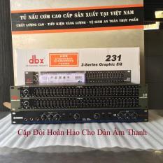 Combo Lọc Âm DBX 231 Và Vang Cơ Yamaha DSP 100 Tặng Cặp Dây Đực Cái Canon