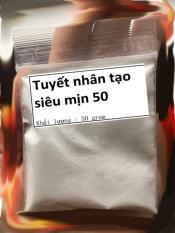 Tuyết nhân tạo siêu mịn 50 gram ( cloud slime )