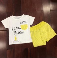 Bộ fashion cotton cho bé từ 1-5 tuổi