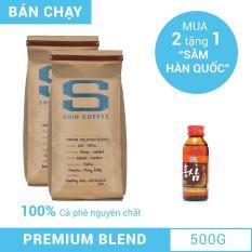 Cà phê cao cấp Premium Blend 500g – Shin Coffee