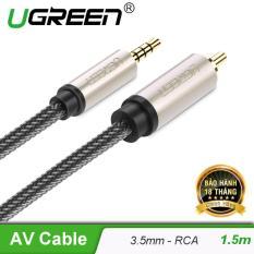 Cáp Audio 3.5mm digital sang RCA Coaxial dài 1.5M UGREEN AV132 20732 – Hãng phân phối chính thức