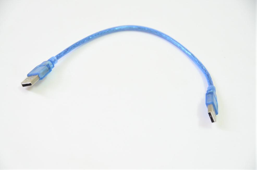 Dây nối USB 2 đầu đực 30 cm