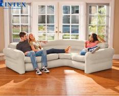 Ghế hơi Sofa mẫu mới INTEX 68575 tặng bơm miếng vá