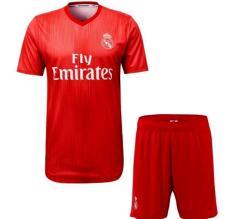 Áo bóng đá câu lạc bộ Real đỏ – vải thun xịn – mặc mát
