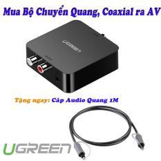 Bộ chuyển âm thanh Quang, Coaxial sang AV Ugreen 30910