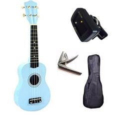 [ƯU ĐÃI LỚN] Đàn ukulele 21inch soprano KBD full phụ kiện tuner, bao đàn, capo