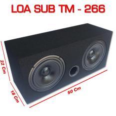 Loa Sub hơi siêu trầm loa đôi TM-266 công suất 300w