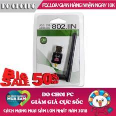 USB thu sóng WiFi có anten tốc độ 150Mbps