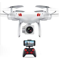 Máy bay điều khiển từ xa Flycam KY101 Camera Full HD, Kết nối Wifi có tay cầm điều khiển