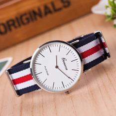 Đồng hồ dây vải cao cấp Genava Nato Hai Kim (Đủ màu)