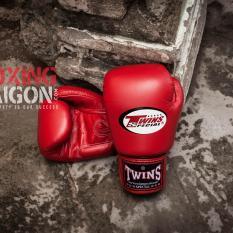 Găng tay Boxing Muay Thai Twins Thái Lan ( Đỏ )