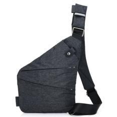 Túi đeo chéo nam chống trộm siêu nhẹ (Đen) SN5