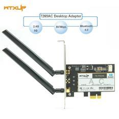 WTXUP Card mạng wifi bluetooth AC PCIE intel 7265 867Mbps
