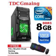 Máy tính game TDCGaming intel core i5 2400/ Ram 8gb/ Hdd 500gb – Tặng phím chuột giả cơ chuyên game – Bảo hành 24 tháng 1 đôi 1.