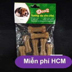 Hanpet.HCM miễn ship>99k-Bộ 8 Xương ống da bò cho chó gặm – phù hợp với chó dưới 7kg (hanpet 369) 8cm-HP2211006