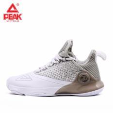 Giày bóng rổ PEAK Tony Parker VI E83323A – Trắng Ghi